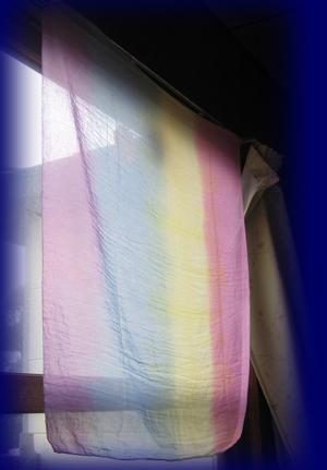 レインボーガーゼ 110×110cm 遊び布