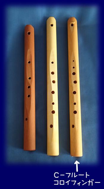 ダイアトニックフルート(コロイフィンガー) 楽器