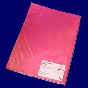 トランスパレントペーパー 単色No61 赤紫