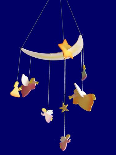 モビール 天使 月と星と天使たち