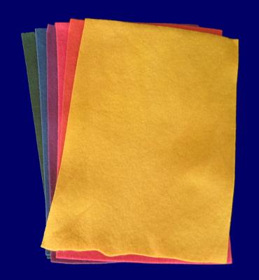 フェルト草木染め 基本色 6色セット