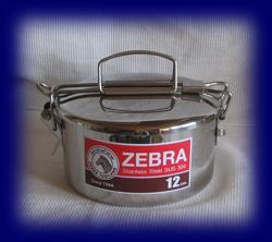 ステンレス フードキャリー12cm×1段 食器・お弁当箱