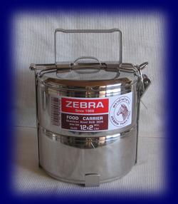 ステンレス フードキャリー12cm×2段 食器・お弁当箱